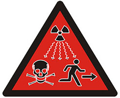 New Radioactive Warning Sign