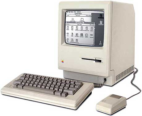 My first computer, a Macintosh 512K